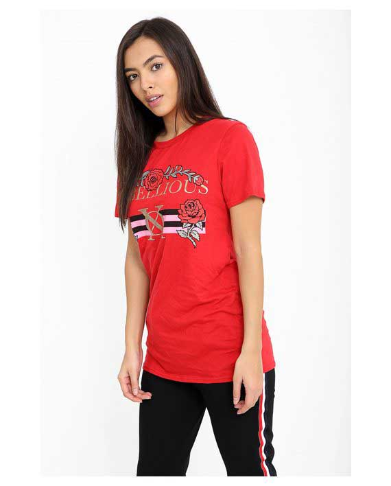 Rebellious T-Shirt red 1