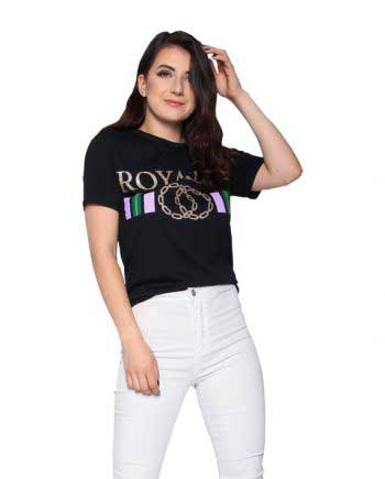 Royalty T-Shirt Black