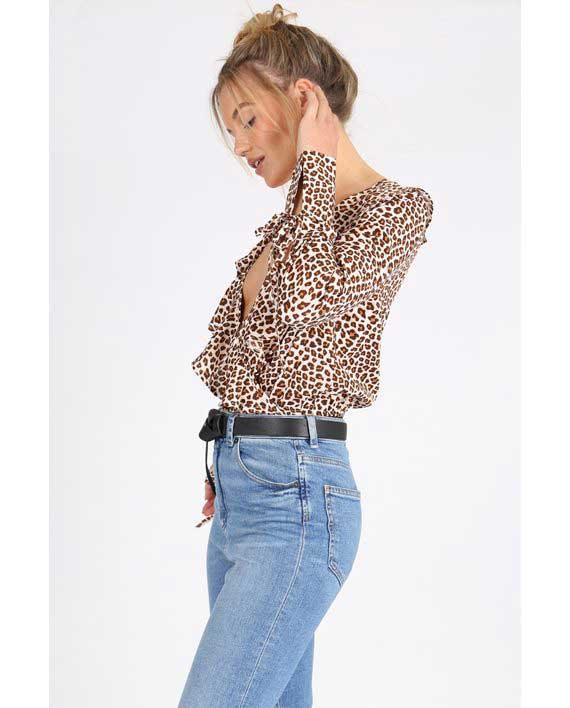 Leopard bodysuit