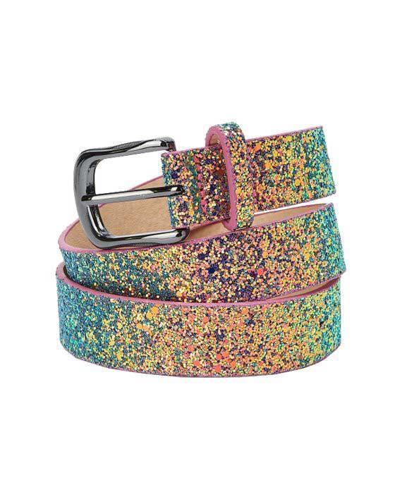 Metallic Glitter Belte