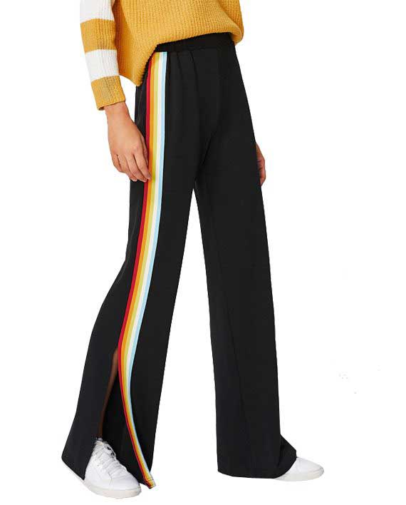 Rainbow Split Pants
