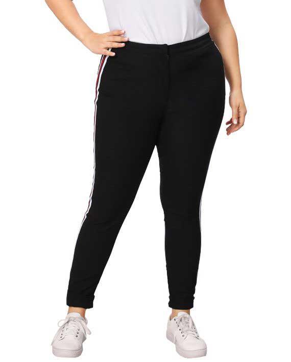 Side Stripe Skinny Pants