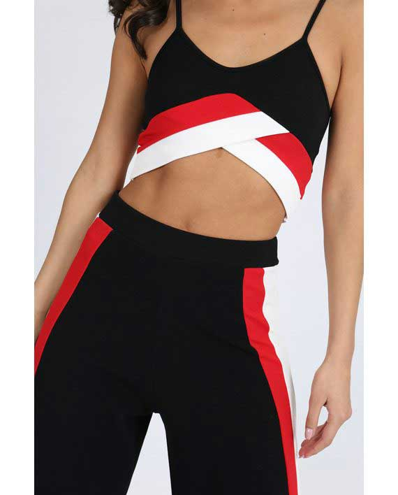Sporty Stripe Set