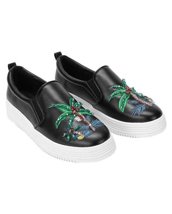 Tropical Slip-On Sneakers